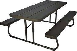 Commercial Picnic Table From Rural King 129 99 Folding Picnic Table Picnic Table Wooden Picnic Tables