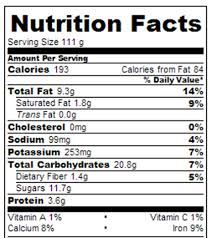 rum raisins ice cream calories and
