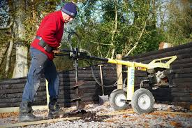 Petrol Post Hole Auger Hire Northern Ireland Marley Hire