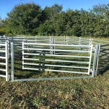 China Hot Dipped Galvanized Welded Iron Pipe Livestock Fence Panels China Livestock Cattle Panels Cattle Fence Panels