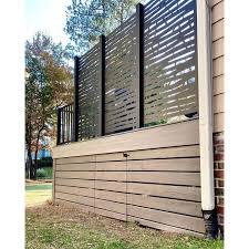 Hideaway Screens 6 Ft H X 3 Ft W Branch Metal Privacy Screen Wayfair In 2020 Garden Privacy Screen Outdoor Privacy Backyard Patio Designs