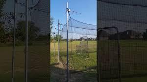 diy batting cage 40 x 12 you
