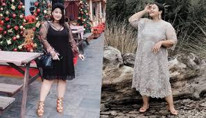 Jual dress brokat modern model lengan panjang terbaru di 2015 dengan warna dasar hitam. Badan Curvy Suka Bingung Pilih Baju 7 Ide Busana Gaun Brokat Ini Bisa Dongkrak Body Goal Kamu