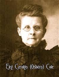 Elcy Carolina Cole (Osburn) (1836 - 1909) - Genealogy