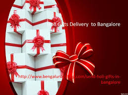 ppt holi gifts delivery to bangalore