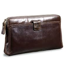 clutch oil wax leather