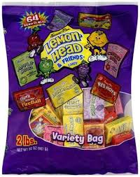 lemonhead variety bag candy 64 ea