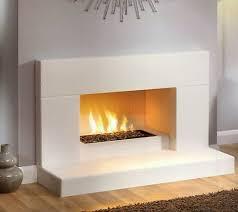 contemporary modern fireplace tile