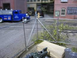Walthers Cornerstone Ho Scale Building Structure Kit Chain Link Fence Gobeyond Lv