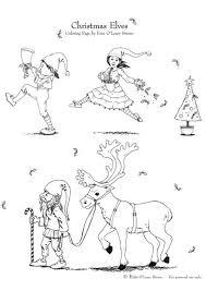 Kleurplaat Kerstmis Elfjes Gratis Kleurplaten Om Te Printen