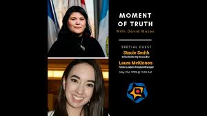 MOMENT OF TRUTH - Stacie Smith & Laura MacKinnon (May 21st, 2019) - 106.5  ELMNT FM Toronto