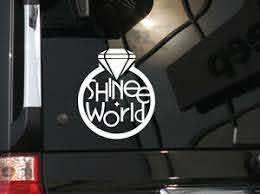 Kpop Idol Shinee Vinyl Car Decal Sticker 6 H Ebay