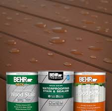 Solid Wood Stain Products Behr