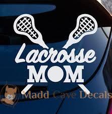 Lacrosse Mom Vinyl Decal Lacrosse Mom Decal For Car Etsy Lacrosse Lacrosse Mom Vinyl Decals