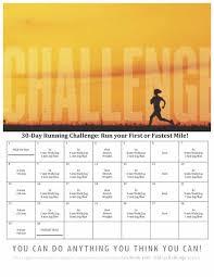 30 day running challenge run your