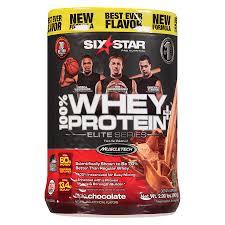 six star elite series whey protein