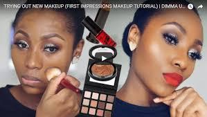 first impression makeup tutorial