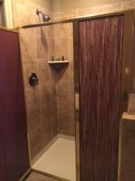nice bathroom but shower enclosure was