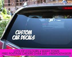 Car Decal Etsy