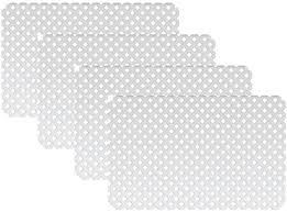 Amazon Com 32 In X 48 In White Modular Vinyl Lattice Fence Panel 4 Pack Garden Outdoor