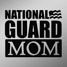 Army National Guard Decal Sticker Dad Proud Car Window Die Cut Family Father Day