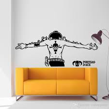 Ace One Piece Luffy Wall Sticker Car Wall Stickers Japanese Decal Independence