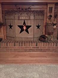 Love It Fences Instead Of Screens For The Fireplace Primitive Decorating Country Primitive Decorating Country Decor