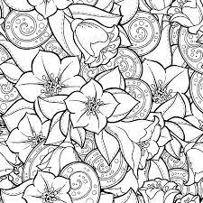 Drie Zwarte En Witte Mandala S Gemaakt Van Bloemen Elementen