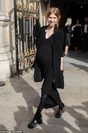 Clémence Poésy announces she is expecting her second child at PFW Stella  McCartney show | Daily Mail Online