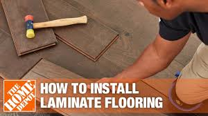how to install laminate flooring the