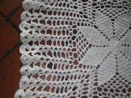 carpeta centro de mesa crochet