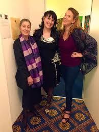 Lovely Evening with Hilary Ross, Andrea... - Allison Tisdale Régnier - ArT  | Facebook