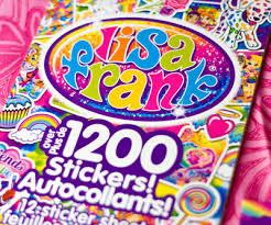 Lisa Frank Collector S Set Sticker Book