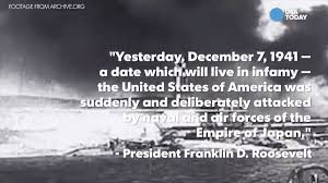 usa today on iconic quotes from pearl harbor t