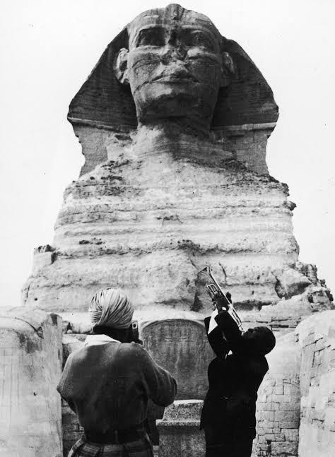 "Resultado de imagem para louis armstrong egypt"""