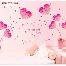 Diy Romantic Pink Love Flower Photo Frame Waterproof Wall Sticker Home Decor Marriage Room Bedroom Decal Art Mural Best Wall Stickers Big Stickers For Wall From Gujiayuan05 10 03 Dhgate Com