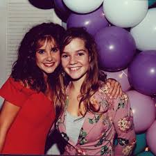 """Wendy Hagen on Twitter: """"My son has been going to sweet 16 birthdays  lately. So here's a throwback to my sweet 16. Celebrating @Kellie_Martin  and the love of floral prints. Wet seal,"""