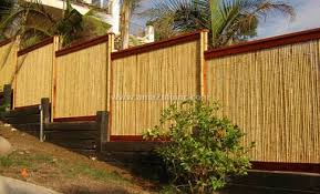 The Advantages Of Using A Natural Bamboo Screen As A Garden Fence Amazulu