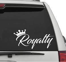 Exterior Accessories Decals Bumper Stickers Will Not Fade Unique Look Royalty Decal 8 Car Window Sticker For Jdm Kdm Slammed Race Drift Stance Ect Dentaldesk In
