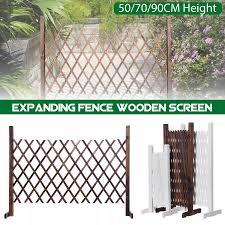 White Expanding Portable Fence Wooden Screen Gate Pet Dog Patio Garden Lawn Barrier Garden Kid Pet Dog Barrier Landscape Lazada Ph