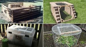 31 Diy Compost Bin Ideas You Ll Want To Get To Work On Now
