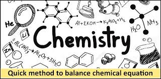 balance the chemical equations