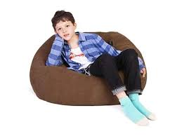Stuffed Animal Storage Bean Bag Chair Bean Bag Cover For Organizing Kids Room Fits A Lot Of Stuffed Animals Xlargebrown Newegg Com
