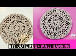 diy jute rug wall hanging you
