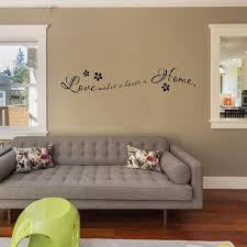 Love Makes A Home Wall Decal Quote Style And Apply
