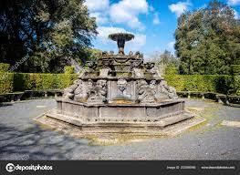 Bagnaia Villa Lante Bagnaia Mannerist Garden Surprise Viterbo Italy — Stock  Photo © massimosanti #233296946