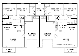 house plans duplex floor plans