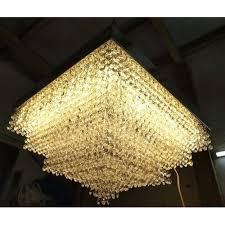 ceiling led crystal chandelier