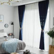 2020 Boy Cartoon Curtains Navy Blue High Blackout Curtain Fabric Embroidered Curtain Finished Custom Childrens Room Bedroom Outer Space From Tuesday222 29 55 Dhgate Com