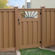 27 Fence Gate Options By Style Shape Material And Panel Home Stratosphere